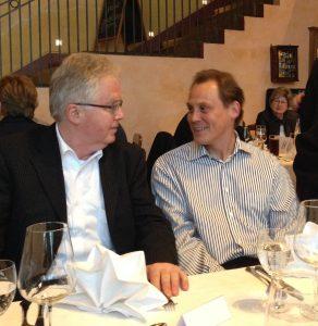 Im Gespräch: Frank Bösemüller und Ralph Hollritt. Foto: BDS Deutschland